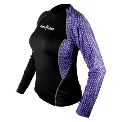 Aqualung Rash guard loose fit long sleeve lady