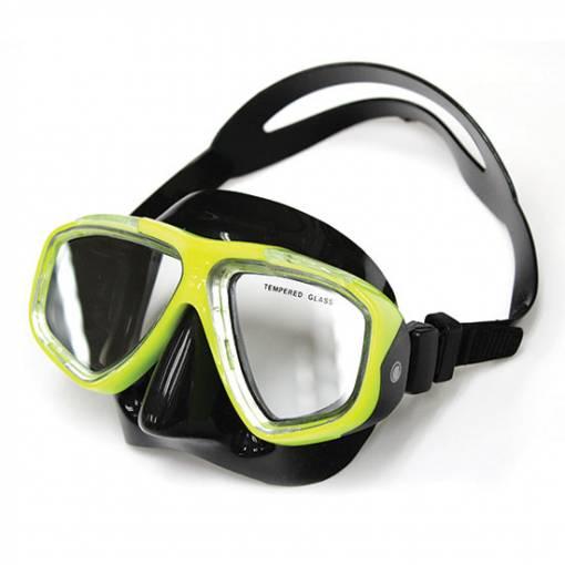 Adventure LX Mask Black Yellow- Phuket Dive Tours