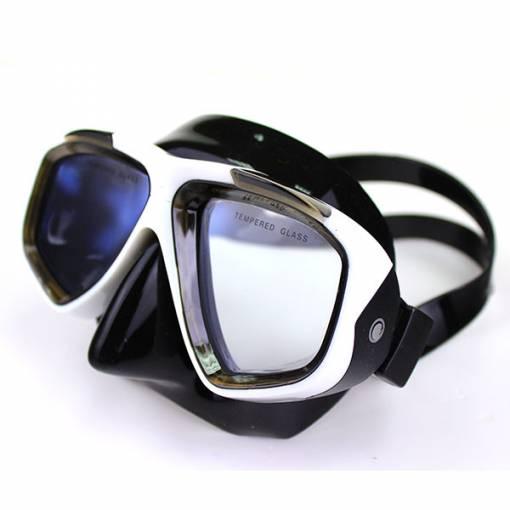 Adventure LX Mask White and Black - Phuket Dive Tours