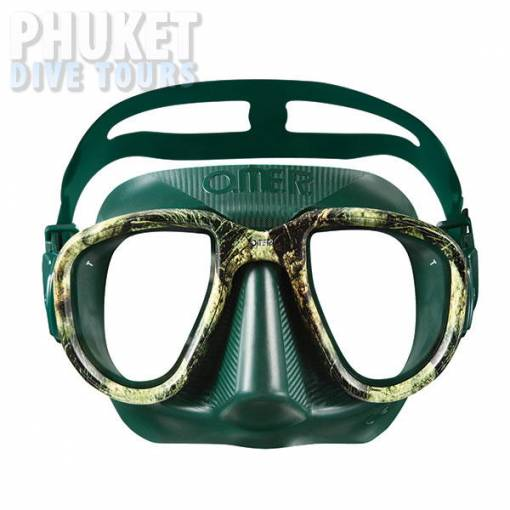 Alien camo green scuba diving mask on sale at Phuket dive tours