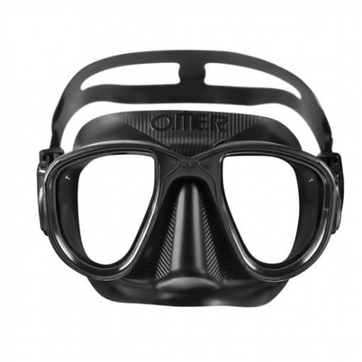 Otter Alien freediving mask black