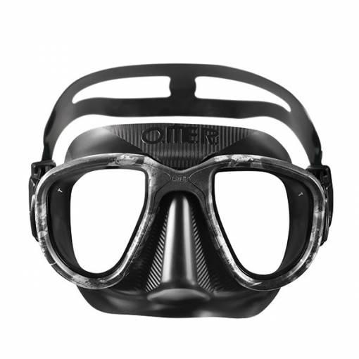 Otter Alien freediving mask blackmoon