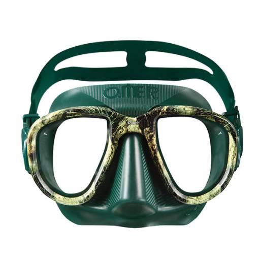 Otter Alien freediving mask seagreen camo