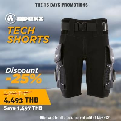 Apeks scuba diving Shorts