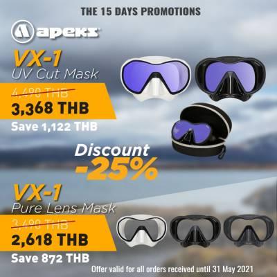 Apeks VX1 SCUBA DIVING masks sale price