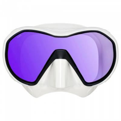 Apeks VX1 new scuba mask White Tinted - Phuket Dive Tours
