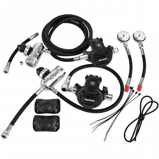 Apex XTX 50 sidemount regulator set