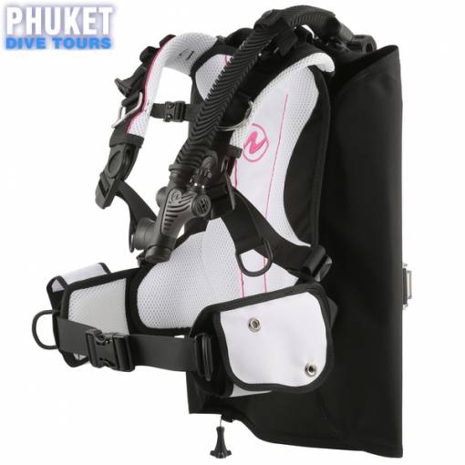 Aqualung Rogue BCD left side view