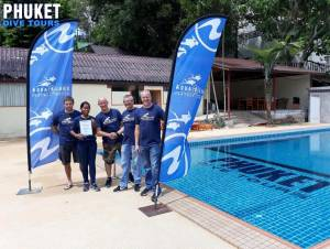 Aqualung partner Scuba diving centre Phuket