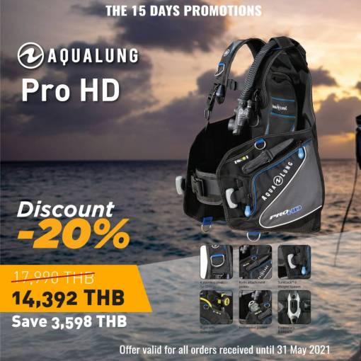 aqualung ProHD bcd sale - 20% off RRP