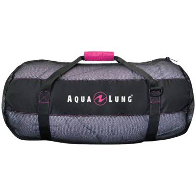 Arrival Mesh equipment Duffel bag pink