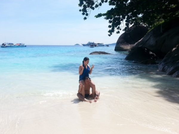 Beaches at Similan islands