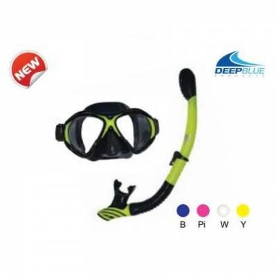 DEEPBLUE Xtreme Mask & Snorkel Set - Phuket Dive Tours