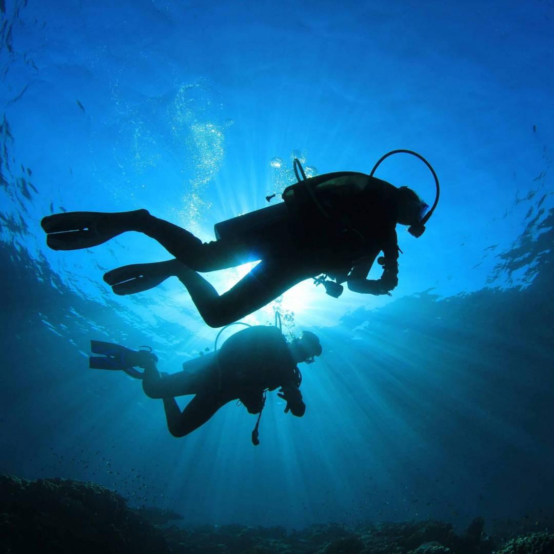 deep diver training padi course 40m certification with phuket dive tours