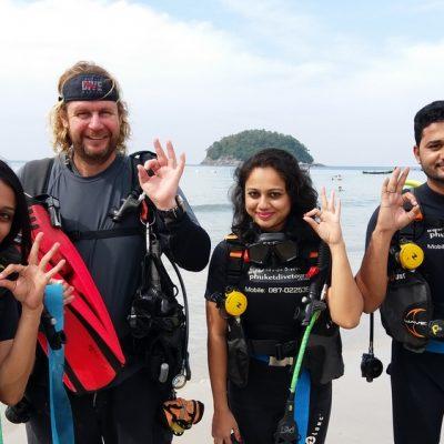 Discover scuba diving Kata Beach Phuket