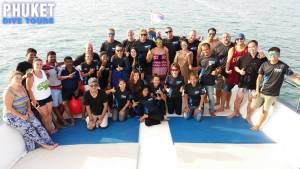 Dive Team Instructors and office staff