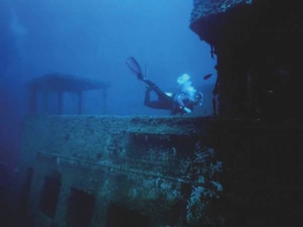 The King Cruiser Wreck Phuket Thailand