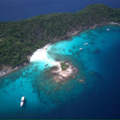 Scuba diving at Racha Noi island with Phuket Dive Tours