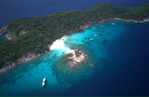 Scuba diving at Racha Noi island with Phuket Dive Tours