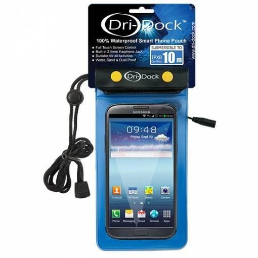 Dri-Dock Smart Phone Pouch - Blue - Phuket Dive Tours