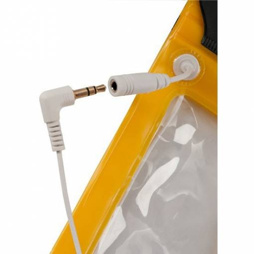 Dri-Dock iPhone - Smart Phone Pouch - Yellow - 3.5mm Jack - Phuket Dive Tours