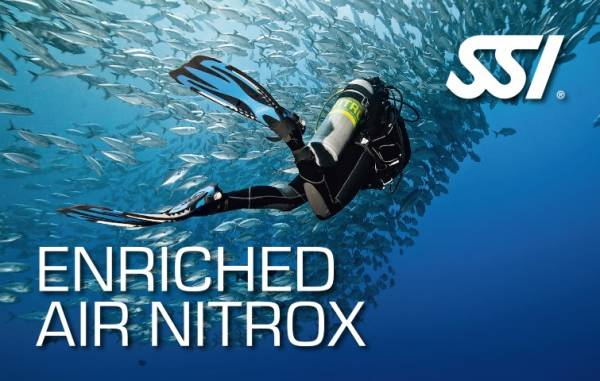 Enriched Air Nitrox digital online training course Phuket