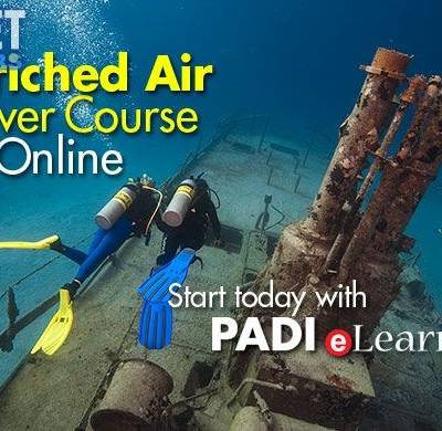 scuba diving in phuket - PADI Nitrox Course online