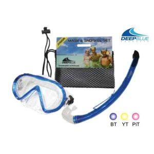 Fiji PVC Junior Mask & Snorkel Set - Phuket Dive Tours