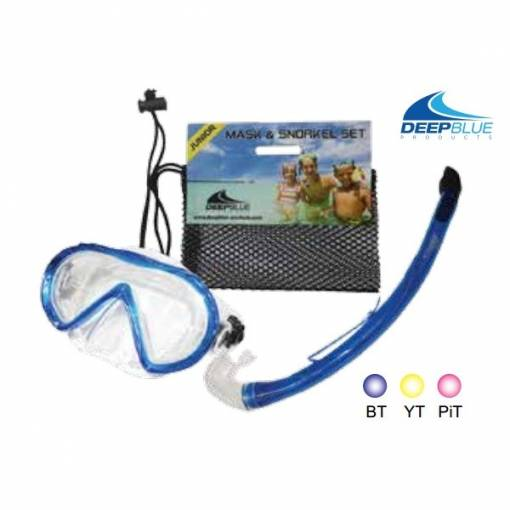 Fiji PVC Junior Mask & Snorkel Set - Phuket Dive Tours
