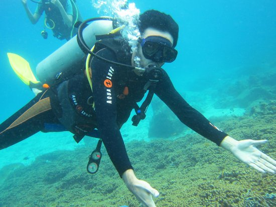 First time ever scuba diving in phuket phuket dive tours - Dive time tours ...