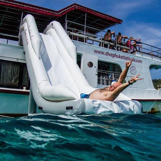 Racha Yai Island scuba diving and Snorkeling