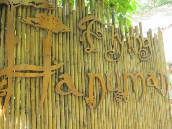 Flying hanuman Park Phuket