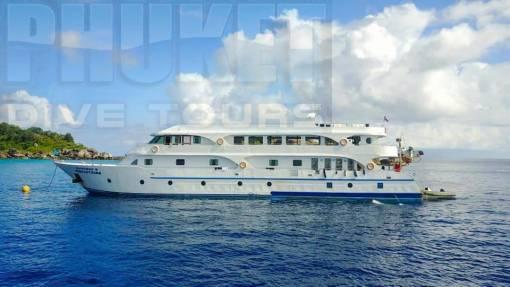 Surin Islands & Richelieu rock overnight liveaboard