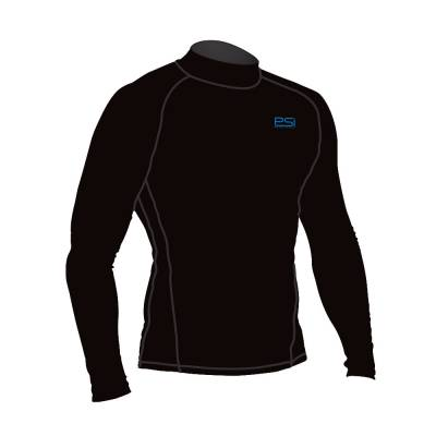 Immersion rash guard long sleeve black