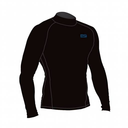 Immersion rash guard long sleeve black
