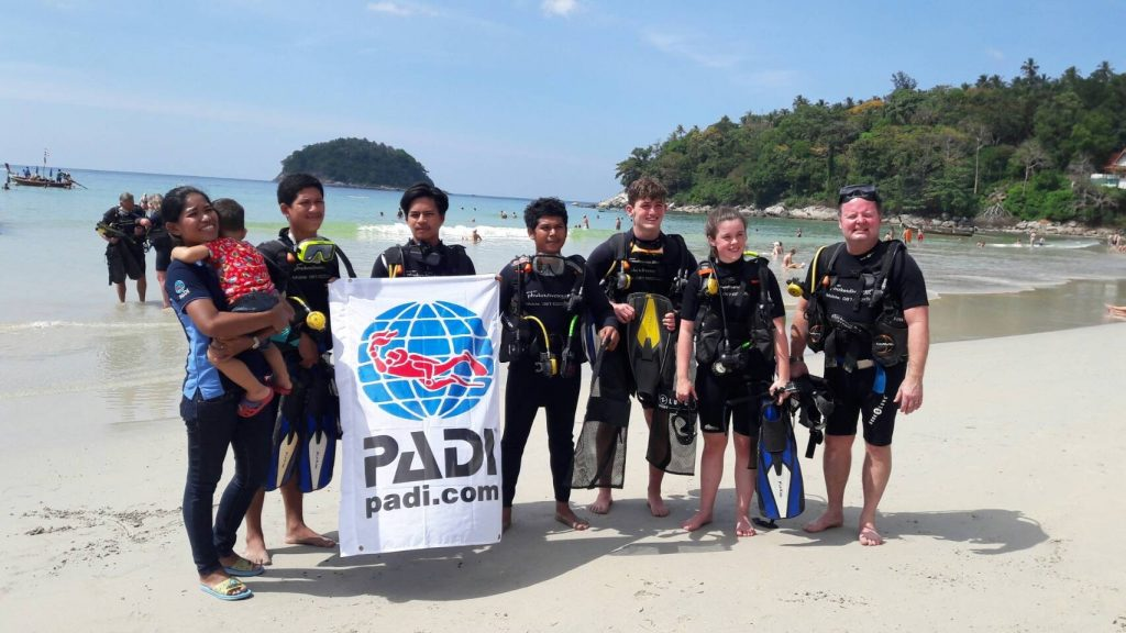Kata Beach Phuket - scuba diving