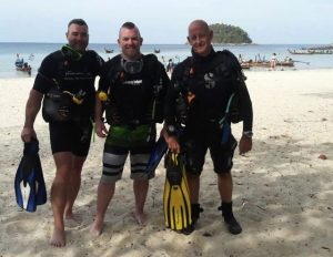 Kata Beach Scuba diving course with Phuket Dive Tours