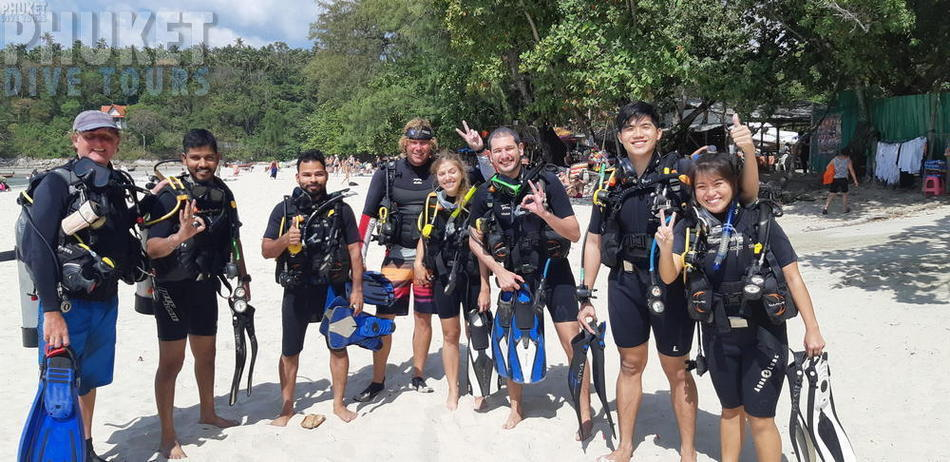 Kata beach diving for beginners