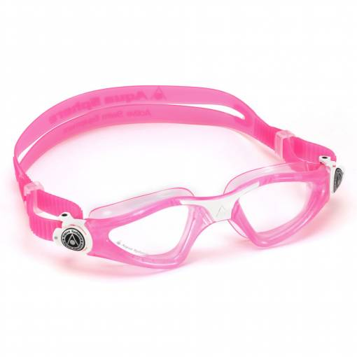 Kayenne kids swimming goggles Clear Pink White