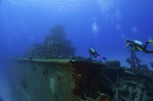 King Cruiser Wreck dive site Phuket