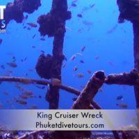 King Cruiser Wreck diving in Phuket