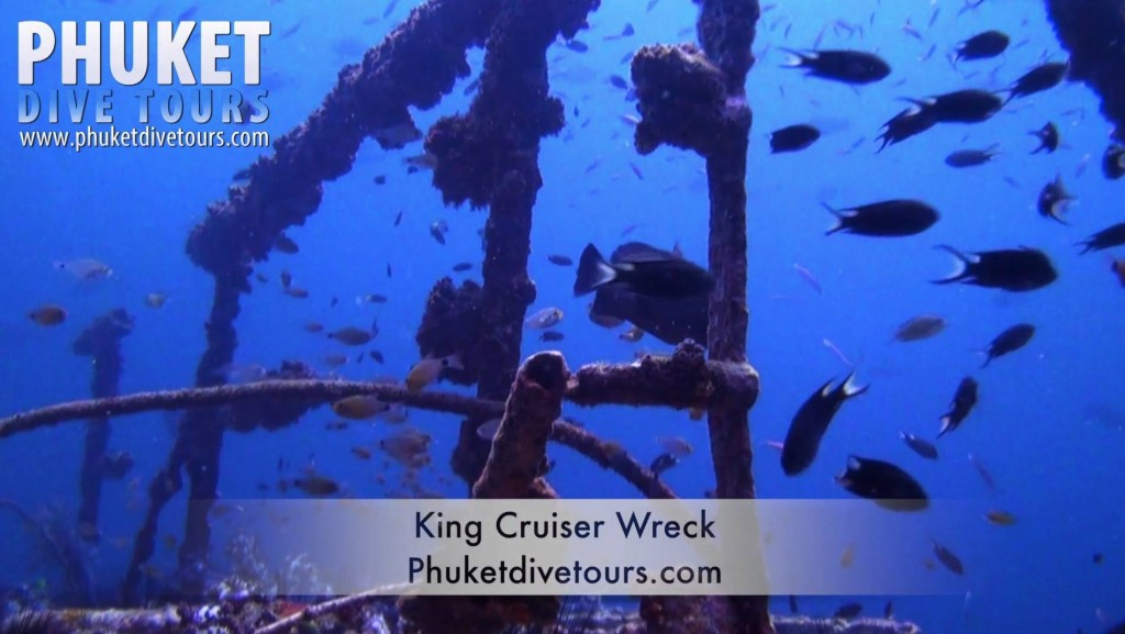 King Cruiser Wreck scuba diving phuket Thailand