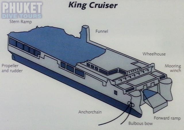 King Cruiser wreck in Phuket