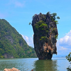 Koh Tapu aka James Bond Island by Phuket Dive Tours