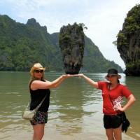 Koh Tapu aka James Bond Island trip by Big Boat - Phuket Dive Tours