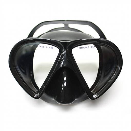 Manta scuba diving mask black