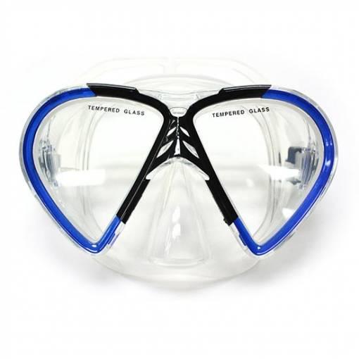 Manta scuba diving mask blue