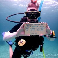 PADI Course Open Water learn to dive in Phuket