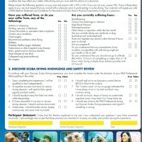 PADI Medical Beginners DSD