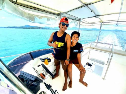 Private dive boat hire in Phuket